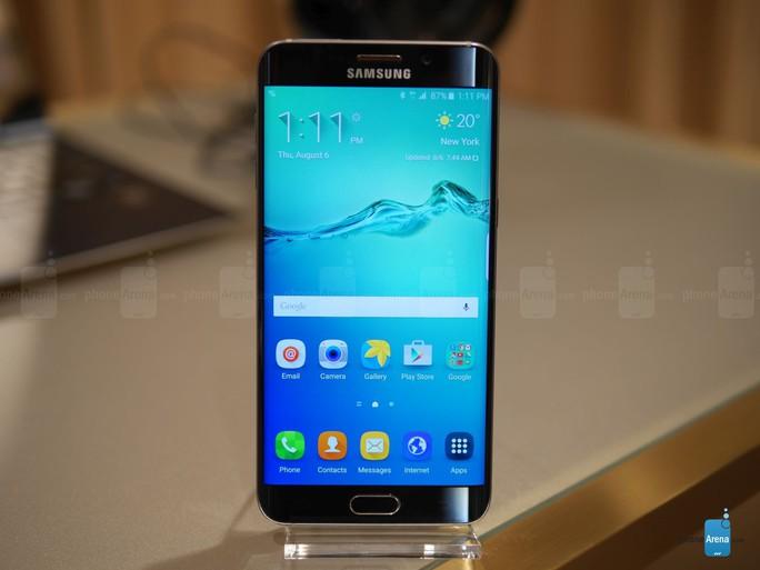 Galaxy S6 Edge+ có thể được xem là bản phóng to của S6 Edge.