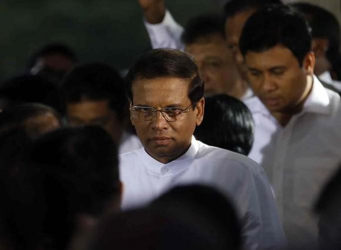 Tân Tổng thống Sri Lanka Maithripala Sirisena mới tới thăm Ấn Độ trong tuần này và dự kiến tới thăm Trung Quốc vào tháng tới. Ảnh: Reuters