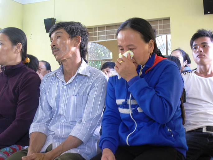 Nỗi đau của cha mẹ Tu Ngọc Thạch khi nghe các bị cáo tại tòa kể lại việc đánh chết con mình