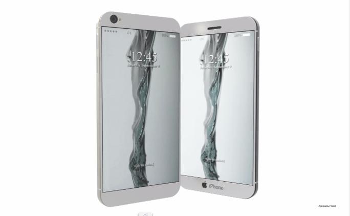 iPhone 8 có 2 màn hình và bàn phím laser