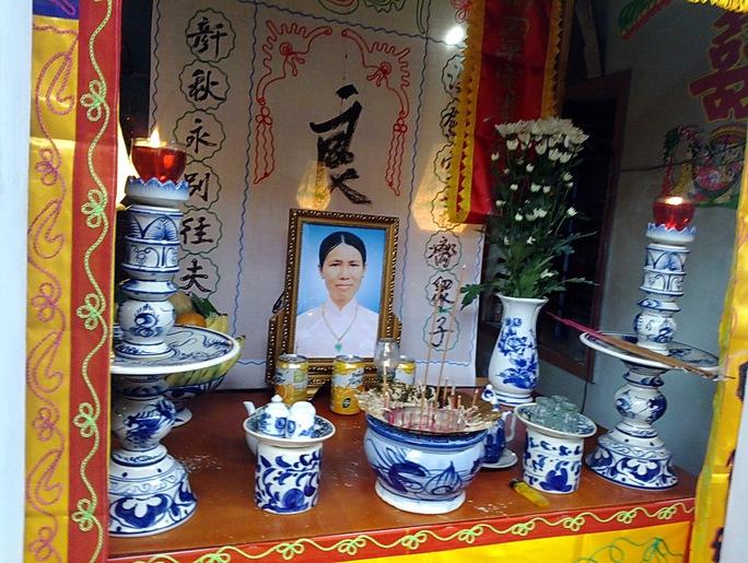 Di ảnh bà Phan Thị Ngọc Nga