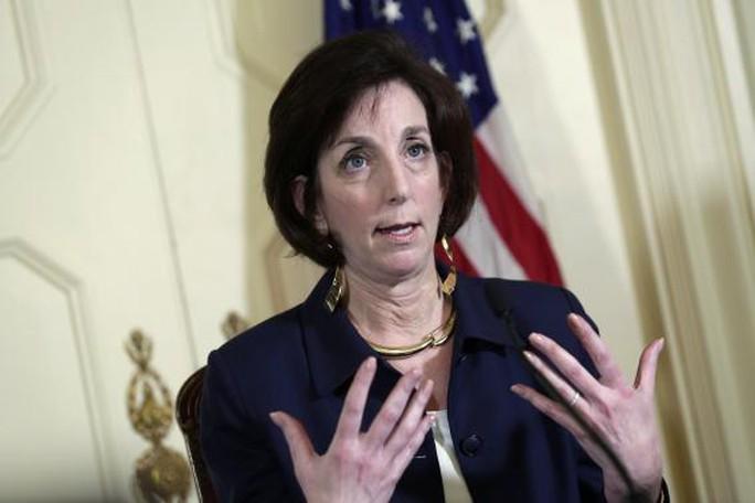 Bà Roberta Jacobson, Trợ lý Ngoại trưởng Mỹ phụ trách các vấn đề Tây Bán cầu. Ảnh: Reuters