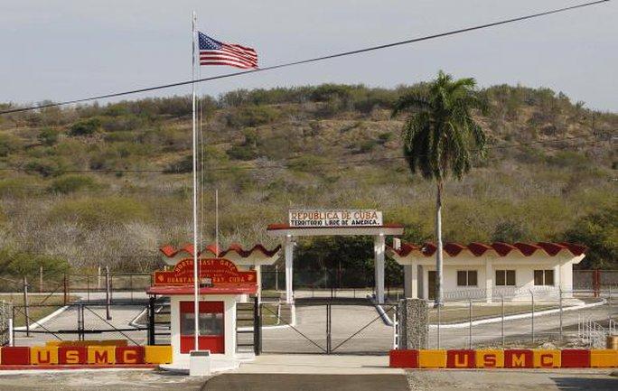 Căn cứ hải quân Mỹ trên vịnh Guantanamo. Ảnh: Reuters