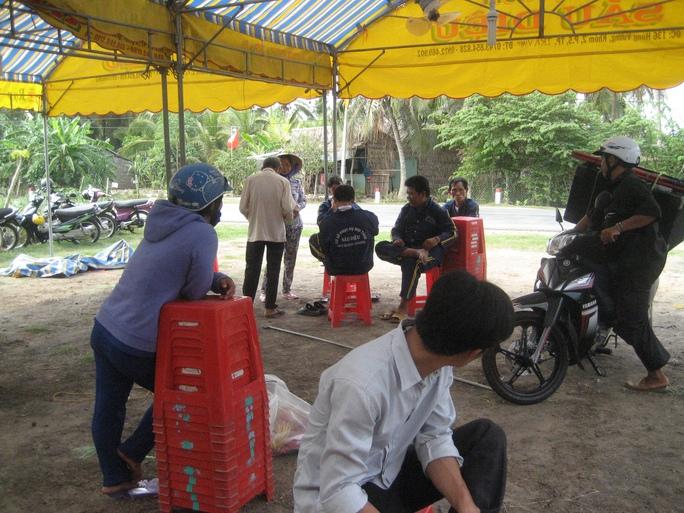 Người nàh đang chuẩn bị tổ chức tang lễ cho ông Võ Quốc Phong