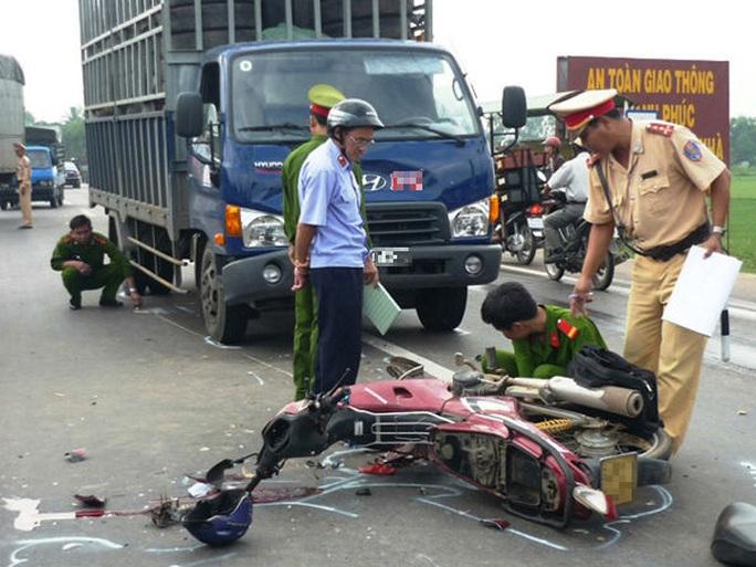 Tai nạn giao thông (TNGT) đầu năm Ất Mùi 2015 chủ yếu liên quan tới xe máy - Ảnh minh họa