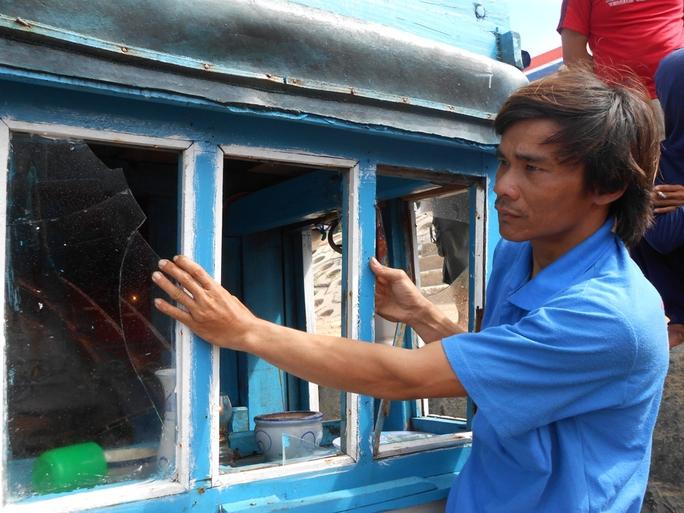 Tàu cá bị Trung Quốc truy cản, cướp ở ngư trường Hoàng Sa