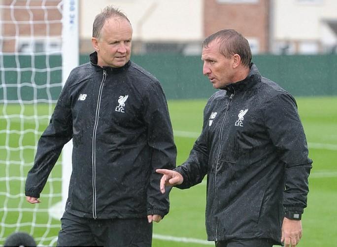 Có lẽ HLV Rodgers đang tính đến phương án tìm người thay thế Sterling
