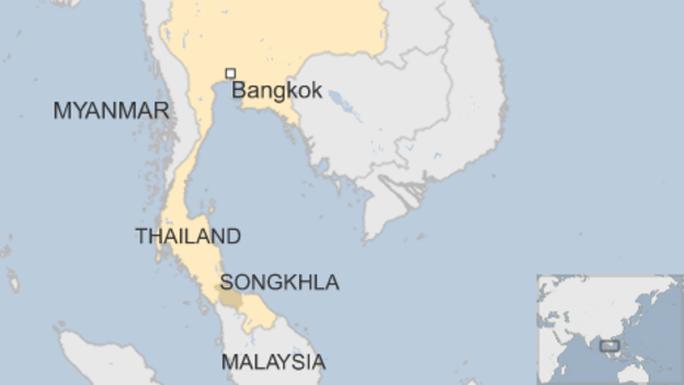 Người tị nạn Myanmar luôn phải dừng chân ở miền Nam Thái Lan trước khi đến Malaysia. Nguồn: BBC