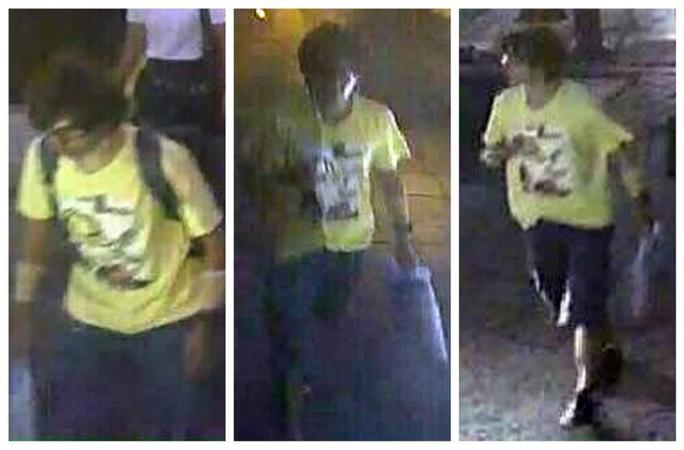 Hình ảnh nghi phạm do camera giám sát ghi lại