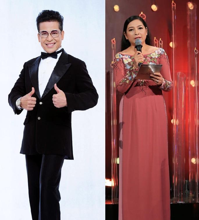Thanh Bạch và Quỳnh Hương là MC đêm chung kết