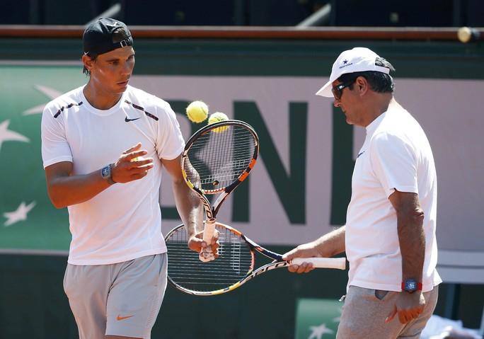 Thể thức 5 ván/trận giúp Nadal có nhiều cơ hội sửa sai ở Roland GarrosẢnh: REUTERS
