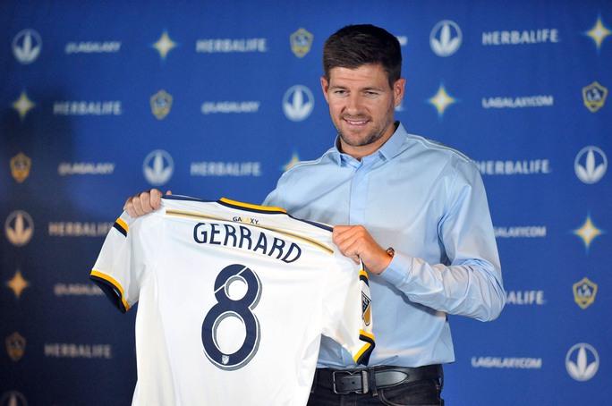 Gerrard sẽ ra mắt LA Galaxy vào trưa 12-7 với áo số 8 quen thuộc Ảnh: REUTERS