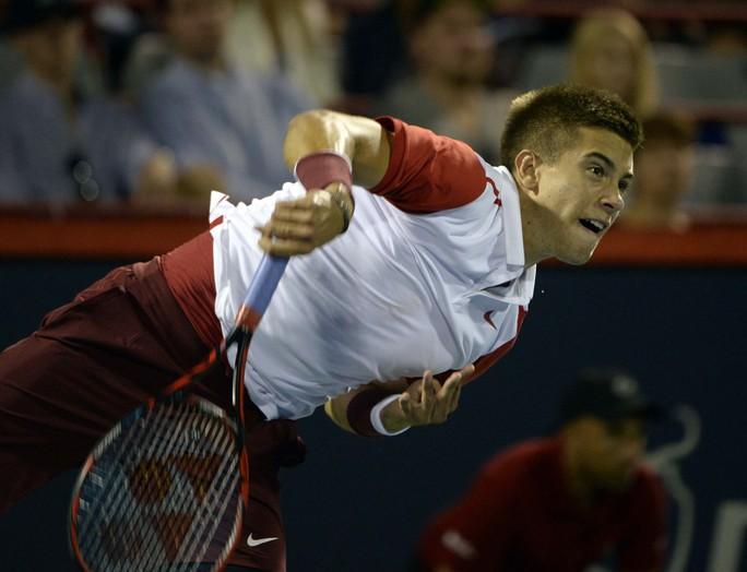 Coric là tay vợt trẻ đánh lên tay nhất hiện nayẢnh: REUTERS