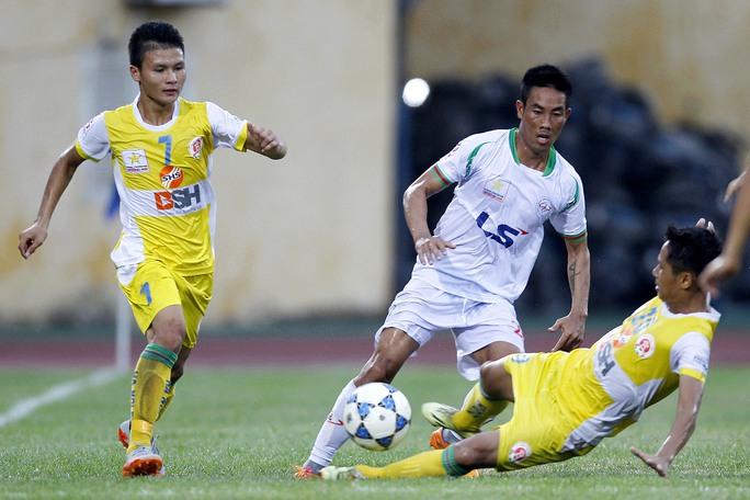 Quang Hải (7) là tuyển thủ U19 nhiều kinh nghiệm nhấtẢnh: Hải Anh