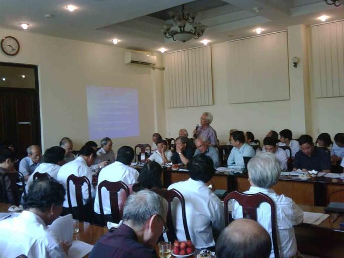 Một buổi hội thảo phản biện dự án bauxite do VUSTA tổ chức