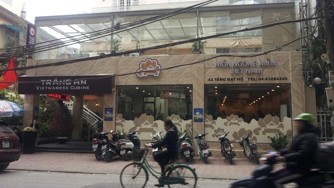 """Nhà hàng Tràng An là địa chỉ đầu tiên trên cả nước thí điểm thực hiện dịch vụ """"Điểm kinh doanh bia rượu an toàn giao thông"""""""