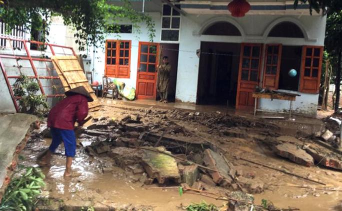 Lũ ống gây thiệt hại nặng cho bà con thị trấn Tuần Giáo, huyện Tuần Giáo, tỉnh Điện BiênẢnh: KHÁNH HÒA