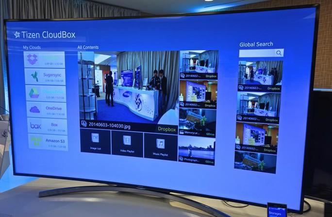Tizen sẽ là nền tảng chính trong các smart TV của Samsung.