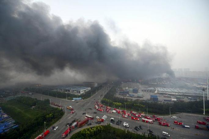 Toàn bộ khu vực bị phong tỏa. Ảnh: Reuters