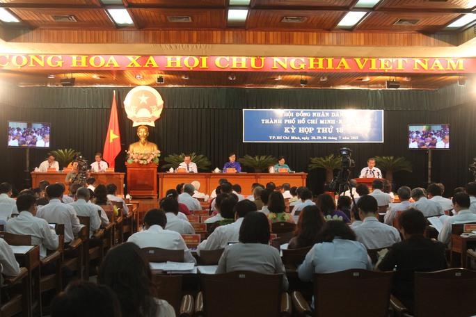 Kỳ họp thứ 18 HĐND khóa VIII khai mạc sáng 28-7 (Ảnh: hoàng Triều)