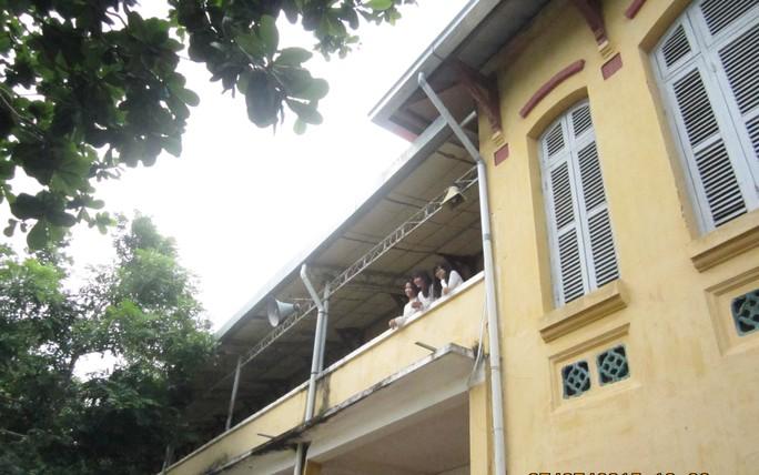Dưới mái trường này từng là nơi hội tụ của nhiều người tài yêu nước