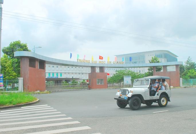 Cơ sở vật chất của Trường ĐH An Giang luôn được đánh giá là khang trang.