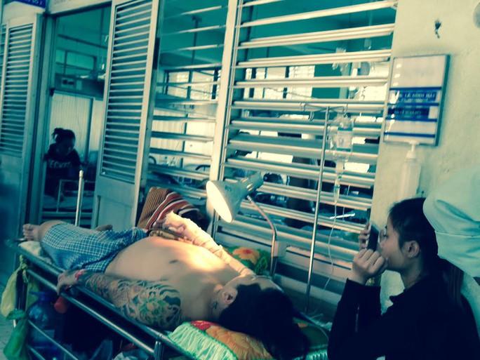 Anh Huỳnh đang được điều trị tại bệnh viện