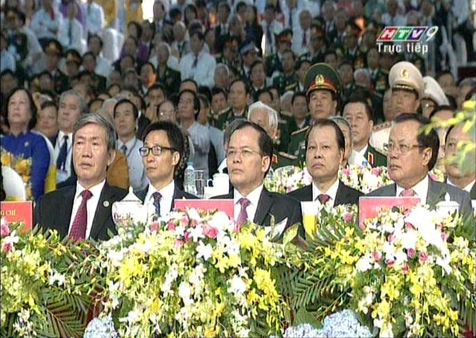Lãnh đạo TP HCM cùng các ban ngành dự lễ kỉ niệm Ngày giải phóng miền Nam, thống nhất đất nước tại Hội trường Thống Nhất