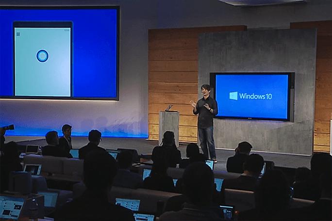 Người dùng được cập nhật miễn phí lên Windows 10