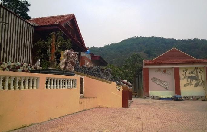 Trang trại nhà Bí thư huyện ủy Thạch Thành Đỗ Minh Quý, nơi có 12 con dê đi lạc vào