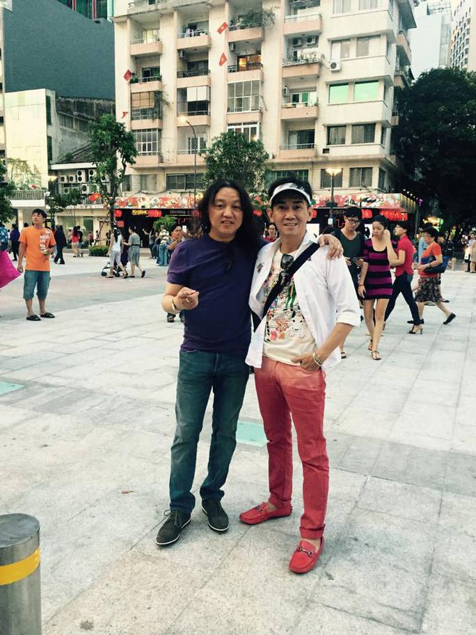Minh Thuận hạnh phúc gặp lại người xưa