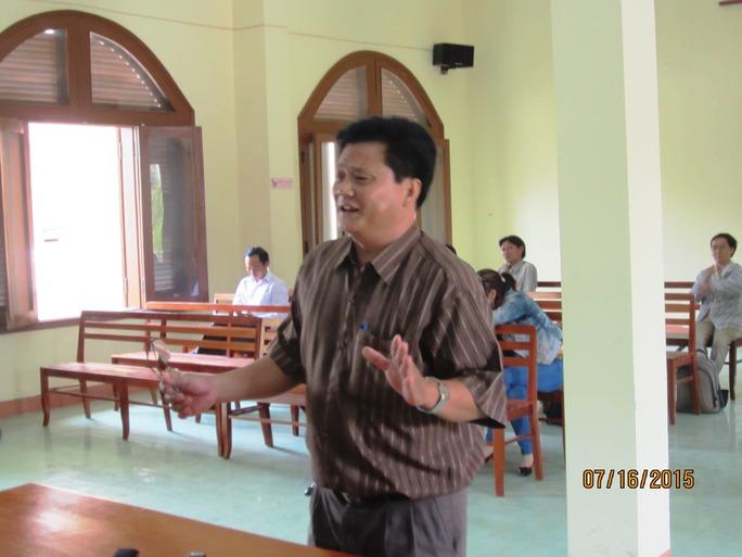 Ông Nguyễn Tâm Niệm, Phó trưởng Công an huyện Tuy An cho rằng vụ việc chỉ sai quy trình