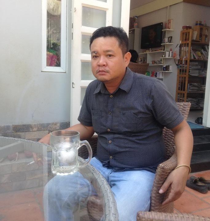 Anh Nguyễn Xuân Trường – nạn nhân mới nhất của vụ dàn cảnh ép xe móc túi vào sáng 3-1, trên đường Phan Đình Phùng, phường 1, quận Phú Nhuận – TP HCM.