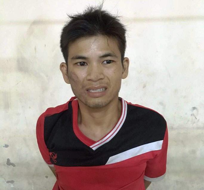 Đối tượng Nguyễn Minh Hiệp tại cơ quan công an