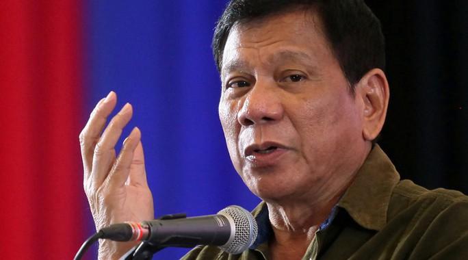 Tổng thống Rodrigo Duterte. Ảnh: REUTERS