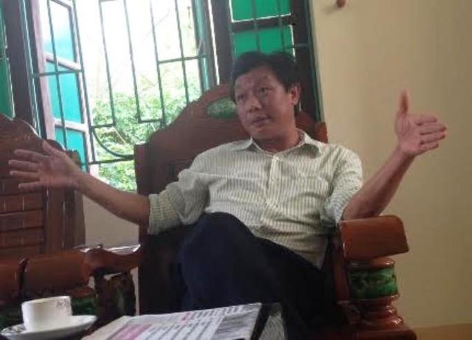 Ông Trần Văn Hán thừa nhận cả phường đóng cửa nhiệm sở để tổ chức liên hoan cho sếp cũ lên thị xã công tác