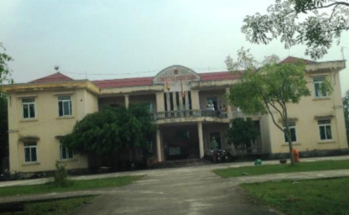 Công sở xã Trung Thành, nơi ông Nguyễn Trọng Nhân công tác trước khi bị cách chức
