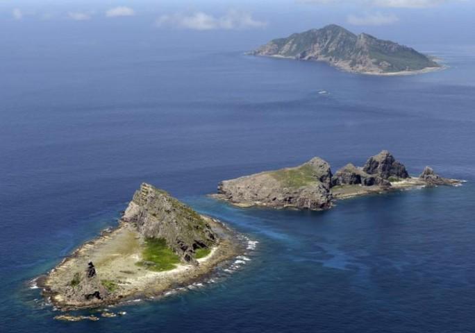 Tokyo đang tranh chấp quần đảo Senkaku/Điếu Ngư với Bắc Kinh ở biển Hoa Đông. Ảnh: KYODO