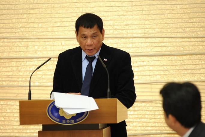 Tổng thống Philippines Rodrigo Duterte. Ảnh: THE WASHINGTON POST