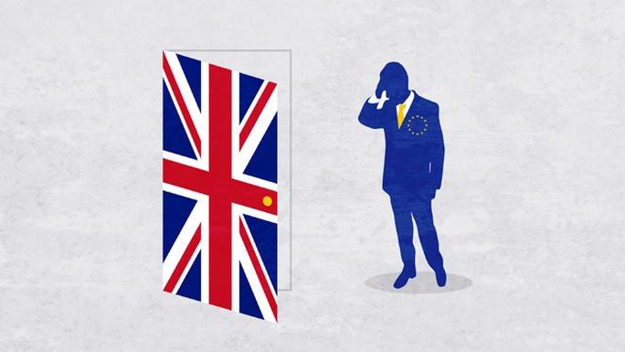 Tiến trình Brexit của Anh lại gặp trắc trở. Ảnh: CNN