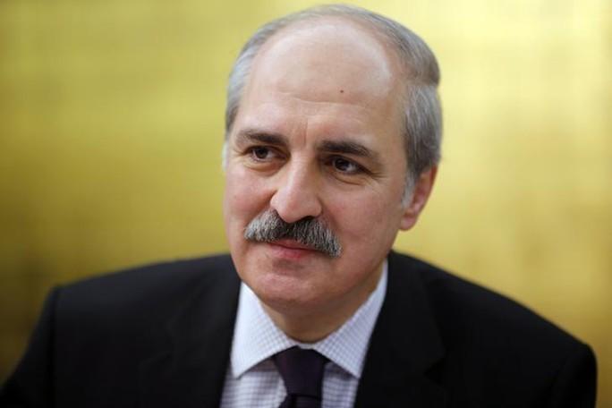 Phó Thủ tướng Thổ Nhĩ Kỳ Numan Kurtulmus. Ảnh: REUTERS