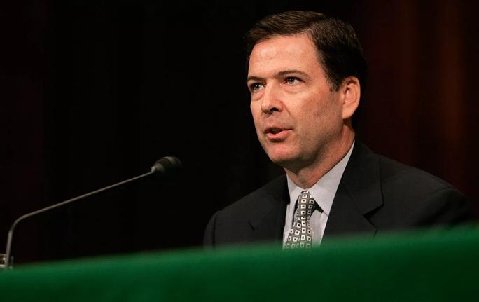 Giám đốc Cục Điều tra Liên bang Mỹ (FBI) James Comey. Ảnh: AP