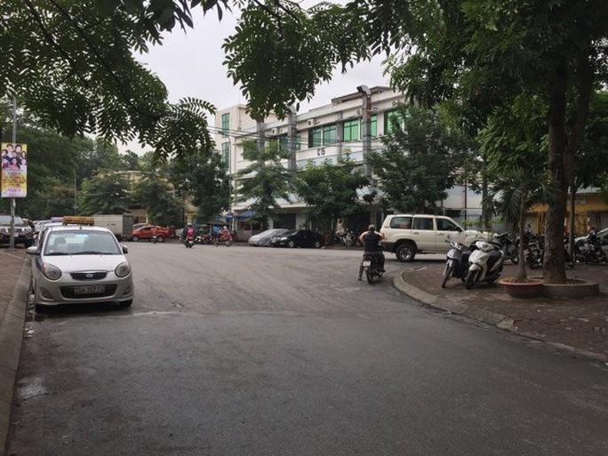 Đường Tạ Quang Bửu, nơi xảy ra vụ tiến sĩ Ng.Kh. bị hành hung - Ảnh: Nguyễn Hưởng