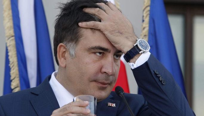 Ông Mikheil Saakashvili. Ảnh: CLOUD FRONT