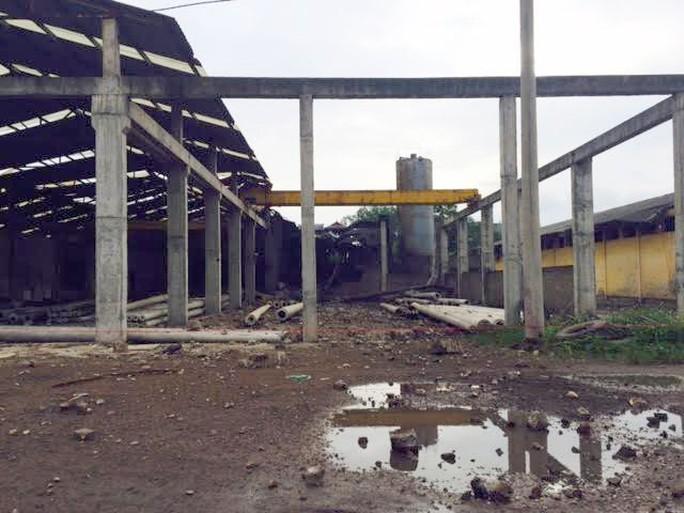 Hiện trường vụ nổ lò hơi khiến 8 người thương vong - Ảnh:CTV