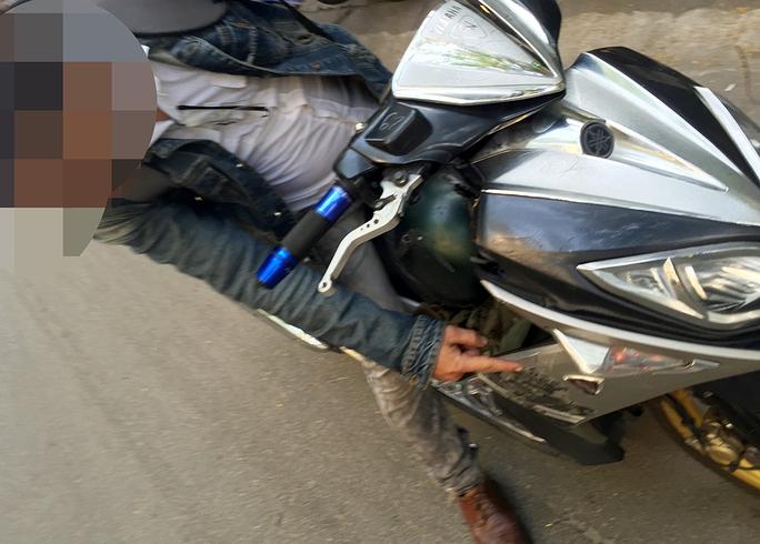 Anh C.X.T (ngụ quận Phú Nhuận) thực hiện lại vụ cướp dễn ra ở quận Gò Vấp.