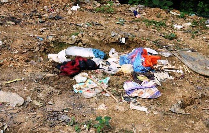 Bãi rác nơi phát hiện thi thể cô giáo mầm non trong bao tải