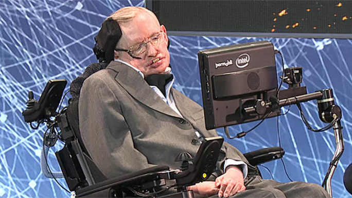 Ông Stephen Hawking. Ảnh: CBS NEWS