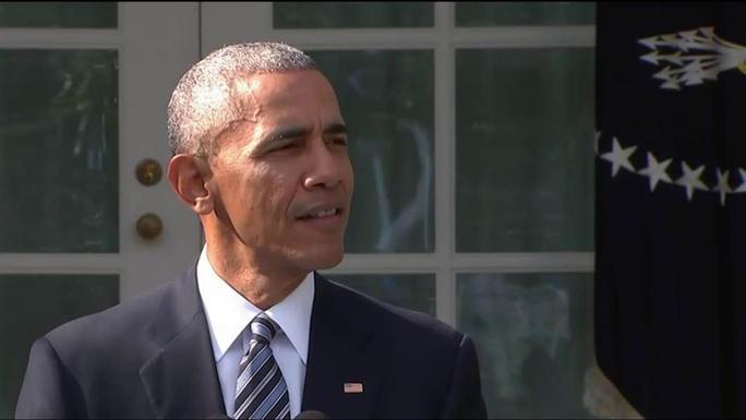 Tổng thống Obama sẽ nỗ lực hết sức để bảo vệ di sản. Ảnh: NBC NEWS