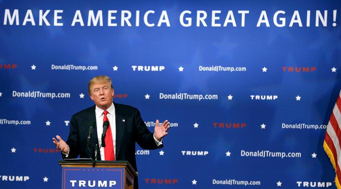 Ông Trump thay đổi nhiều cam kết trong chiến dịch tranh cử. Ảnh: THE FEDERALIST PAPERS